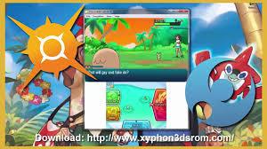 Pokémon Sun and Moon Download link Emulator Citra PC + 3DS ROMS ...