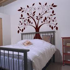 Giant Tree With Falling Leaves Wall Decals Your Choice Of Color Sold By Dalidecals On Storenvy