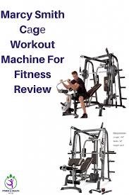 Marcy Smith Cаgе Workout Machine For Fitness Review #homegym  #homegymbodybuilding #workout #gymworkouts | Workout machines, Home gym  equipment, Body training