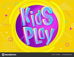 Kids Play Vector Illustration Cartoon Style Bright Colorful Illustration Children Stock Vector C Haushe 219004204