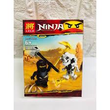 Đồ chơi lắp ráp lego ninja xếp hình ninjago và rắn trọn bộ 8 hộp như hình  Lele 31189.