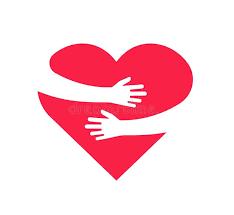 Risultato immagini per clipart cuore abbraccio