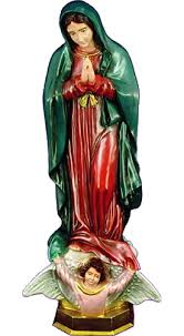 garden statue mary our lady guadalupe