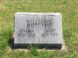 Iva Dell Phillips Williams (1871-1949) - Find A Grave Memorial