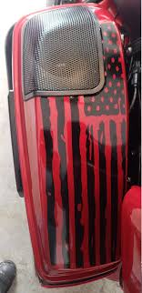 2014 2020 Harley Davidson King Tour Pack Dont Tread On Me American Flag Decals 2014 2015 2016 2017 2018 2019 Country Boy Customs Store