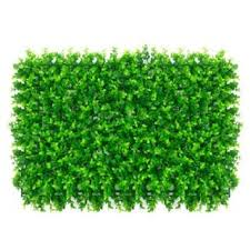 Artificial Hedge Plant Grass Panels Path Wall Garden Fence Decor 60 40cm Cool Shopee Philippines