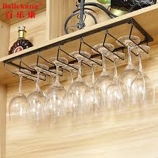 wine glass rack upside down home goblet