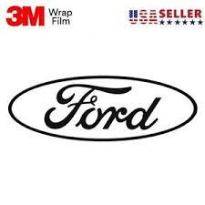Ford Decal Script Oval Logo 3m Vinyl Sticker Decal Wrap Car Truck Window Ebay