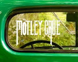 2 Motley Crue Band Decal Sticker The Sticker And Decal Mafia