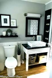 black white and grey bathroom