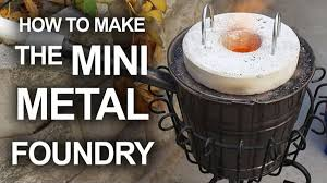 foundry for that can melt soda cans