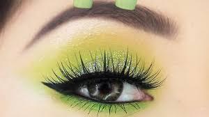 neon eyeshadow makeup tutorial for
