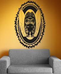 Vinyl Wall Decal Sticker Tiki Surf God Os Aa1237 Stickerbrand