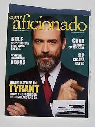 "Cigar Aficionado: July/August 2016 Issue Adam Rayner ""Tyrant"" Cover   eBay"