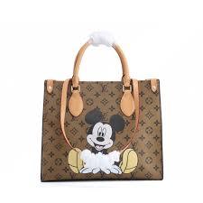 Túi Xách Tay In Hình Chuột Mickey Dễ Thương giảm chỉ còn 1,653,560 đ