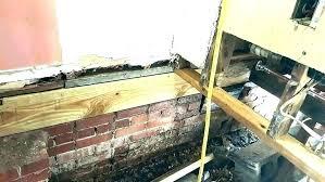 replacing rotten floor joists skill