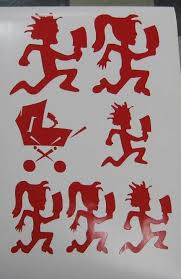 Insane Clown Posse Family And Kids Decal Sticker Icp Etsy Insane Clown Posse Insane Clown Clown Posse
