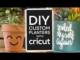 Vinyl Decal Succulent Pot Diy Youtube