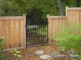 Wood Fence Framed Designs Pool Fencing Woodbury Fence Company