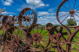 Wagon Wheel Fence In The Hills Of The Palouse Palouse Etsy