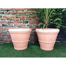 large terracotta plant pots for in