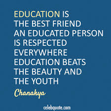 chanakya quote about youth education beauty cq
