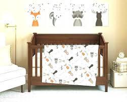 woodland nursery bedding ideas