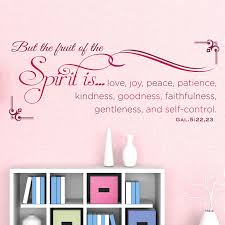 But The Fruit Of The Spirit Scripture Decal Divine Walls