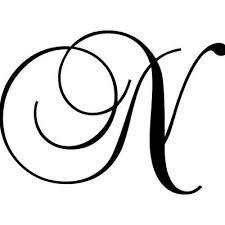 Enchantingly Elegant Letter N Wall Decal Wayfair Letter N Lettering Hand Painted Artwork
