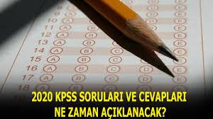 2020 KPSS soruları ve cevapları açıklandı mı? KPSS lisans sonuçları ve  soruları ile cevapları ne zaman açıklanacak? - Son Dakika Haberleri Milliyet