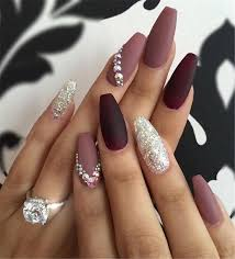 burgundy nails archives sumcoco