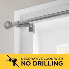 no drill adjule window curtain