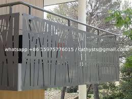 Wholesale Price Villa Garden Decorative Laser Cut Steel Screen Fence Panels