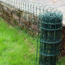 Garden Border Fence Used As Garden Accents Keep Small Animals Out