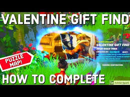 how to plete valentine gift find by