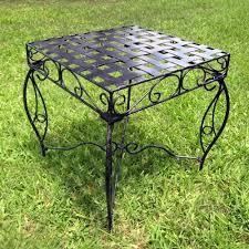 mandalay square patio side table