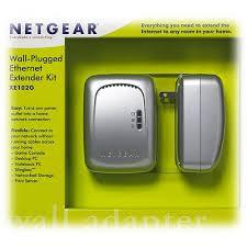 netgear wall plugged ethernet extender