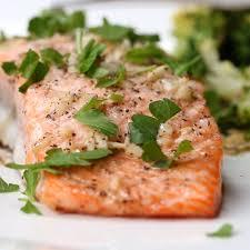 One-pan Garlic Butter Salmon Recipe by ...