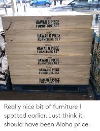 tesco hawaii 6 piece furniture set