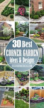 28 Beautiful Corner Garden Ideas And Designs Decor Home Ideas