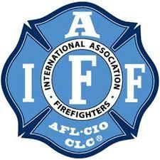Iaff Blue Navy Decal Firefighter Com