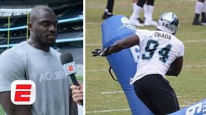 I made most of my mistakes in the NFL' - Efe Obada explains the importance  of the NFL Academy   NFL - YouTube