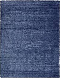 navy blue luxe solid area rug