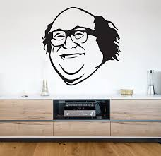 Amazon Com Manukadesigns Danny Devito Wall Decal Frank Reynolds Vinyl Sticker It S Always Sunny Bedroom Living Any Room Home Decoration Cg441 22 Width X 22 Height Home Kitchen