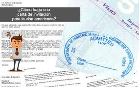 Como Hacer Una Carta De Invitacion Para Que Alguien Viaje A Estados Unidos