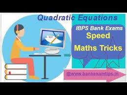 quadratic equations shortcut trick
