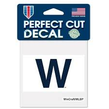 Chicago Cubs Car Window Decal 4 Decal Color Win Flag For Sale Online