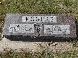 Milla Ovidia Fossen Rogers (1894-1975) - Find A Grave Memorial