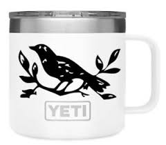 Bird Branch Vinyl Decal Sticker Decal Yeti Tumbler Decal Laptop Ebay