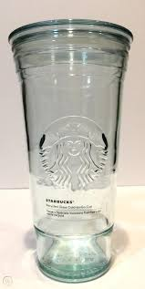 excellent 20oz starbucks recycled glass